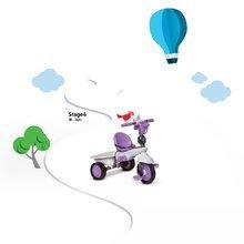 Trojkolky od 10 mesiacov - Trojkolka Dream Team Purple Touch Steering 4v1 smarTrike fialovo-šedá od 10 mes_8