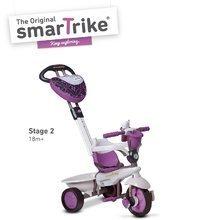 Trojkolky od 10 mesiacov - Trojkolka Dream Team Purple Touch Steering 4v1 smarTrike fialovo-šedá od 10 mes_1