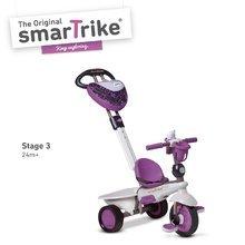 Trojkolky od 10 mesiacov - Trojkolka Dream Team Purple Touch Steering 4v1 smarTrike fialovo-šedá od 10 mes_2