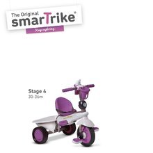 Trojkolky od 10 mesiacov - Trojkolka Dream Team Purple Touch Steering 4v1 smarTrike fialovo-šedá od 10 mes_3