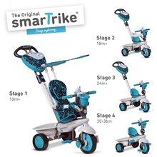 Tricikel Dream Team Blue Touch Steering 4v1 smarTrike modro-siv od 10 mes