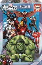 Detské puzzle od 100-300 dielov - Puzzle Avengers Educa 200 dielov od 6 rokov_0