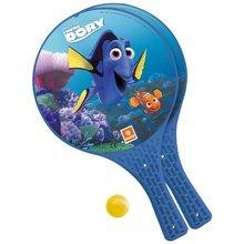 Strand tenisz Szenilla nyomában Mondo 2 ütővel és labdával