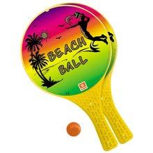Detský plážový tenis Beach Ball Mondo 2*22 cm rakety a loptička MON15980