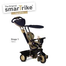 Tricikli Dream Team Gold Touch Steering 4in1 smarTrike 10 hónapos kortól arany-fekete