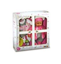 Kolica za lutke setovi - Set kolica za lutku Smoby sportska (58 cm ručka), hranilica, kolijevka i lutka s odjećom od 18 mjeseci_11