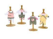 Kočíky pre bábiky sety - Set stolička, autosedačka a hojdačka pre bábiku retro Maxi Cosi & Quinny 3v1 Smoby bábika Baby Nurse 32 cm a 3 šiat_7
