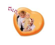 Domčeky pre bábiky sety - Set prebaľovací stôl pre bábiku Baby Nurse Srdiečko Smoby a bábika so zvukom MiniKiss do postieľky 27 cm_8