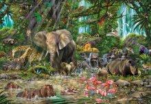 Puzzle 2000 dielne - Puzzle African Jungle Educa 2000 dielov_0