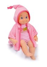 Păpuşă de jucărie cu sunet MiniKiss Smoby pentru baie 27 cm roz de la 12 luni
