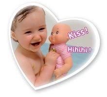 Bábiky od 9 mesiacov - Bábika so zvukmi MiniKiss Smoby na kúpanie 27 cm ružová od 12 mes_3