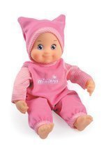 Dievčenská bábika so zvukom MiniKiss Smoby 27 cm ružová od 12 mes