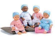 SMOBY 160166 Bábika Baby Nurse, ružové šaty, biele dupačky, ružový kabátik, modré dupačky, + 2 rokov, 32 cm