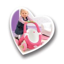 Detské chodítka - Chodítko a kočiarik pre bábiku 2v1 MiniKiss Smoby s brzdou od 12 mes_7