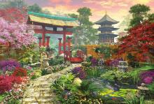 Puzzle 3000 dielne - Puzzle Genuine Japonská záhrada Educa 3000 dielov od 15 rokov_0