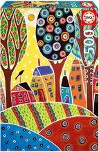Puzzle Houses Barn Landscape, Karla Gerard Educa 500 dielov od 11 rokov