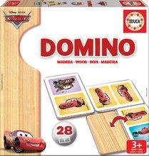 Drevené domino Autá Educa 28 ks