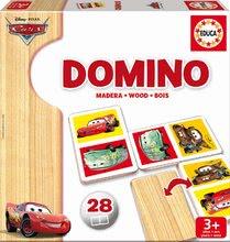 Domino a Lotto - Drevené domino Autá Educa 28 ks_1