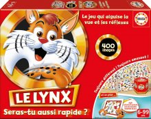 Joc de societate pentru familie Le Lynx Educa 400 imagini în limba franceză de la 6 ani