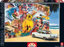 Puzzle Genuine Surf Mural Educa 500 dielov od 11 rokov