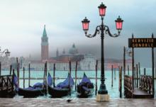 Puzzle 1500 dielne - Puzzle Benátky za súmraku Educa 1500 dielov_0