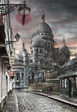 Puzzle 1000 dielne - Puzzle Genuine Montmartre Paris Educa 1000 dielov od 12 rokov_0