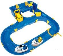 Dětská vodní hra Waterplay Hamburg BIG skládací s lodičkami modrá