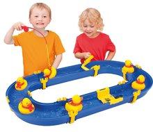 Vodní hra pro děti Waterplay BIG skládací s kachničkami modrá