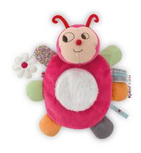 Plyšová lienka bábkové divadlo Nopnop-Chance Ladybug Doudou Kaloo 25 cm pre najmenších