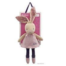 Handrové bábiky - Plyšový zajačik bábika Petite Rose-Musical Doll Kaloo v sukničke spievajúci 30 cm v darčekovom balení pre najmenších_1