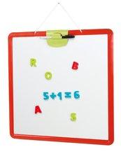 Tabuľa pre deti Activity Smoby magnetická, obojstranná na zavesenie s perom
