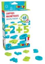 Detské magnetky Smoby čísla a znaky 48 kusov