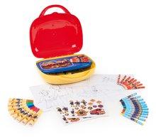 Výtvarný set v kufríku pre deti Fireman Sam so 60 doplnkami od 3 rokov 410805