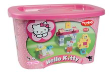 Stavebnice BIG-Bloxx ako lego - Stavebnica v dóze PlayBIG BIG Hello Kitty 73 kusov od 18 mes_3