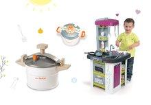 Kuchynky pre deti sety - Set kuchynka Tefal Studio BBQ Bublinky Smoby s magickým bublaním a tlakový hrniec Tefal_20