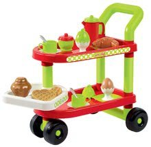 Obchody pre deti sety - Set obchod Supermarket Smoby s elektronickou pokladňou a servírovací vozík_8