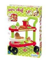 Obchody pre deti sety - Set obchod Supermarket Smoby s elektronickou pokladňou a servírovací vozík_20