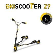 smarTrike 2221100 žlto-čierna kolobežka - lyžovanie na ceste SkiScooter Z7 Yellow od 7 rokov
