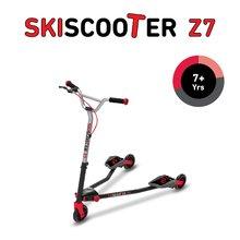 smarTrike 2221000 červeno-čierna kolobežka - lyžovanie na ceste SkiScooter Z7 Red od 7 rokov