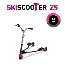 smarTrike 2230200 ružovo-čierna kolobežka - lyžovanie na ceste SkiScooter Z5 Purple od 5 rokov