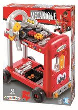 Staré položky - Pracovní dílna Mecanique Tool Set Trolley Écoiffier na vozíku s 31 doplňky od 24 měsíců_1