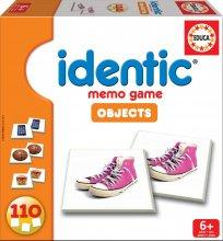 Pexeso memóriajáték Identic Objects Educa 110 db