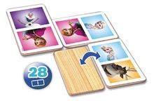 Domino a Lotto - Drevené domino Frozen Educa 28 ks_0