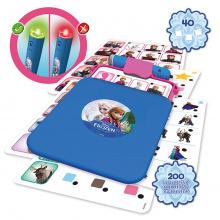 Cudzojazyčné spoločenské hry - Spoločenská hra Frozen Conector junior Educa 40 kariet a 200 otázok a inteligentné pero_0