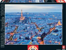 Puzzle 1000 dielne - Puzzle Genuine Paris Lights Educa 1000 dielov od 12 rokov_1