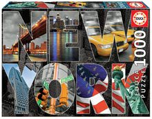Puzzle Genuine New York Collage Educa 1000 de piese de la 12 ani