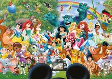 Puzzle 1000 dielne - Puzzle Disney Family The Marvelous World of Disney II. Educa 1000 dielov od 12 rokov_0