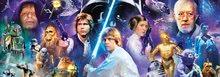 Panorama puzzle - Puzzle Panorama Star Wars Educa 1000 dielov od 12 rokov_0