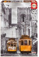 EDUCA 16311 puzzle The Alfama District Lisbon 1500 dielikov