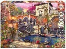 Puzzle Genuine Venice Courtship Educa 3000 delov od 15 leta